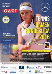 TEC Waldau 1. BL Plakat 2016